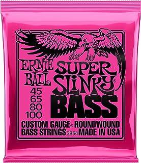 Best Ernie Ball Super Slinky Nickel Round Wound Bass Set, .045 - .100 Review