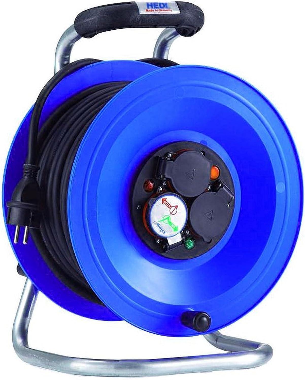 HEDI K2Y25N2TF Kabeltrommel 250 V, blau, schwarz B00AHVK5SY   Die Qualität Und Die Verbraucher Zunächst