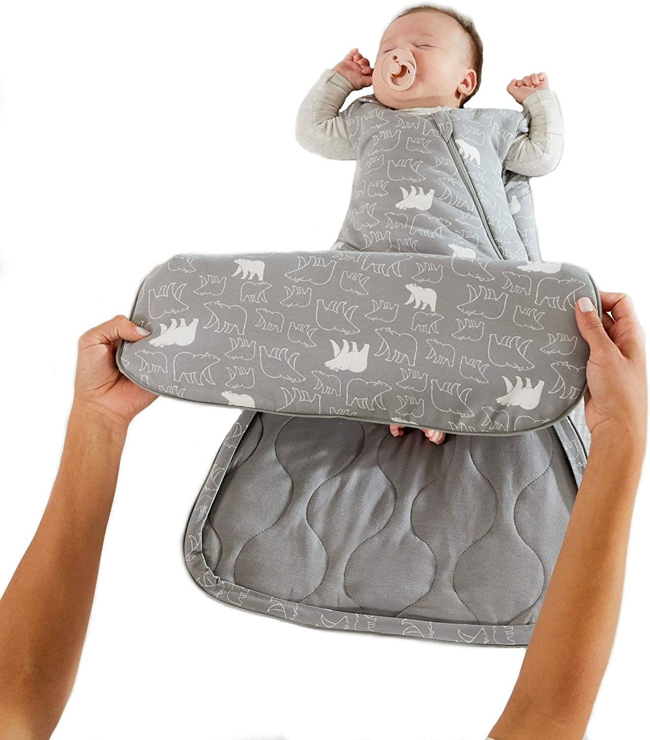 GUNAMUNA Baby Swaddle Max 59% OFF Sleep Bag Duvet Sales of SALE items from new works 1.0 TOG Newborn for to M 3