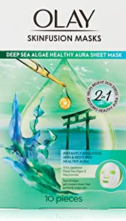 Olay Skinfusions Deep Sea Algae Sheet Mask 34g