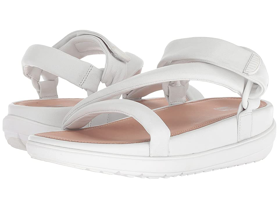FitFlop Loosh Luxetm Z-Strap Leather Sandals (Urban White Leather) Women