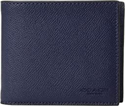 3-in-1 Wallet in Crossgrain