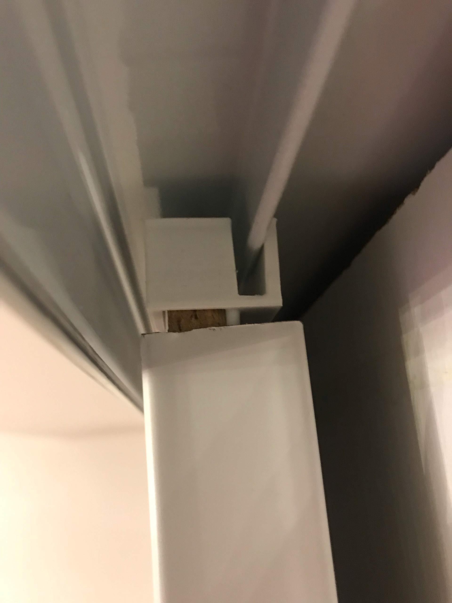 3 pares de guías para armarios con puertas correderas de Form Optimum: Amazon.es: Bricolaje y herramientas