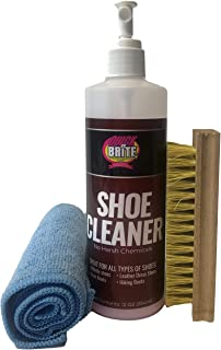 Sponsored Ad - Quick N Brite 12 oz Shoe Cleaner Kit for Sneakers, Boots, and Dress Shoes