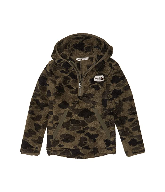 Campshire Hoodie (Little Kids/Big Kids) New Taupe/Green Duck Camo Print
