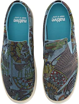 Native Shoes - Miles Denim Print