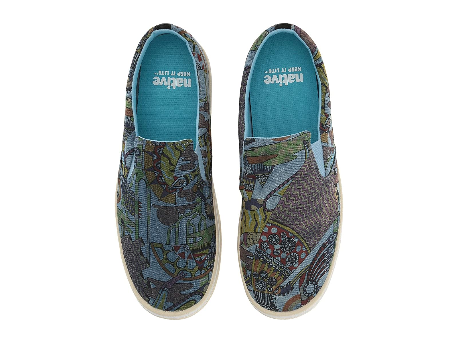 Native Shoes Miles Denim PrintCheap and distinctive eye-catching shoes