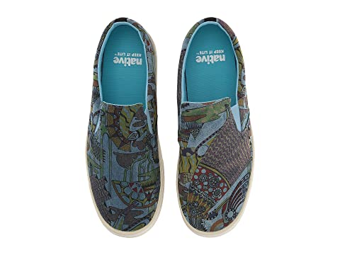 Native ShoesMiles Denim Print Qhl1dOcSi