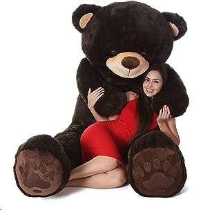 Giant Teddy Brand - Premium Quality Giant Stuffed Teddy Bear (Chocolate Brown, 7 Foot)