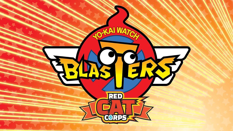 YO-KAI Challenge the lowest price WATCH Blasters: Red Cat Corps Digital DLG 3DS Code Regular dealer -