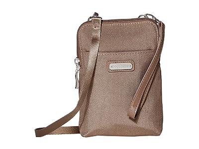 Baggallini New Classic Take Two RFID Bryant Crossbody (Portobello Shimmer) Handbags