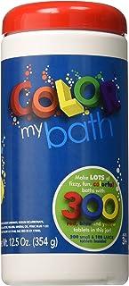 Color My Bath Color Changing Bath Tablets, 300-Piece