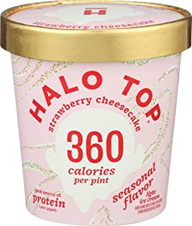Halo Top Creamery, Ice Cream Seasonal, 16 Fl Oz