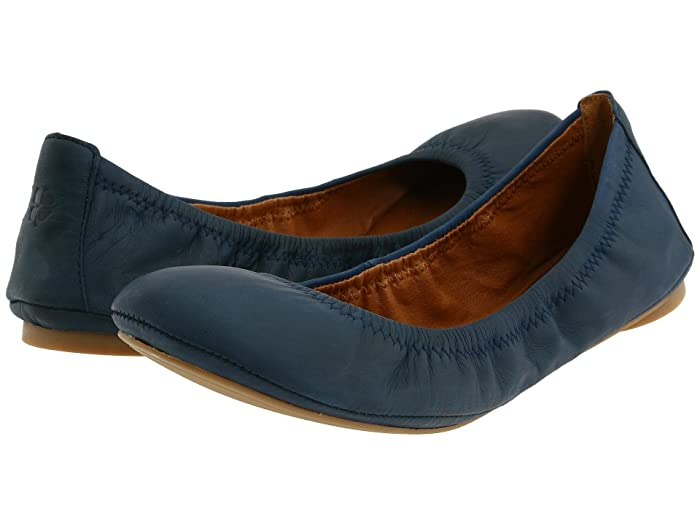 Lucky Brand  Emmie 2 (American Navy) Womens Flat Shoes