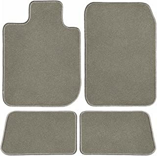 GGBAILEY D60357-S1A-GY Custom Fit Car Mats for 2017, 2018, 2019 Land Rover Discovery Grey Driver, Passenger & Rear Floor