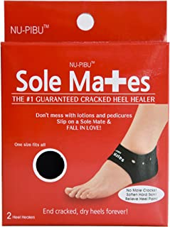Sole Mates - Cracked Heel Healers!! You can begin healing painful cracks and rough, dry heels instantly! Don't mess with lotions and pedicures- heal your cracked skin naturally from the inside out!