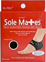 Sole Mates - Cracked Heel Healers!! You can Begin Healing Painful Cracks and Rough, Dry Heels Instantly! Don't Mess with l...