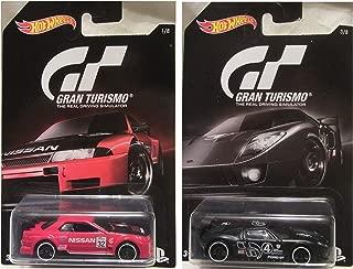 Hot Wheels 2016 Gran Turismo Nissan Skyline GT-R (R32) Ford GT LM Bundle, Set of 2