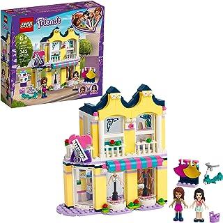 LEGO Friends Emma's Fashion Shop 41427, Includes Friends Emma and Andrea Buildable Mini-Doll Figures and a Range of Fashio...