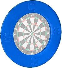 Relaxdays Unisex – Dart Catchring R7 voor volwassenen, 4-delig, beschermring voor dartbord van 45 cm, stabiel, muurbescher...