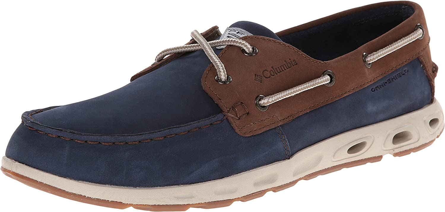Columbia Mens BoneheadTM Vent Leather PFG Boat shoes