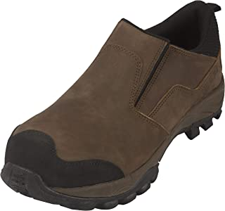 Steel Toe Slip On Loafers Shoes