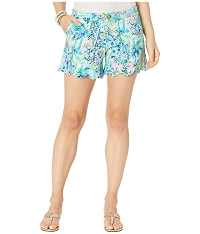 Lilly Pulitzer Buttercup Knit Shorts (Multi Lillys House) Women