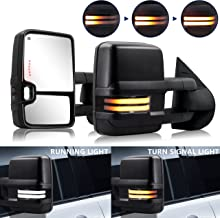 HF autoparts Swichback Towing-Mirrors fit for 2007-2013...