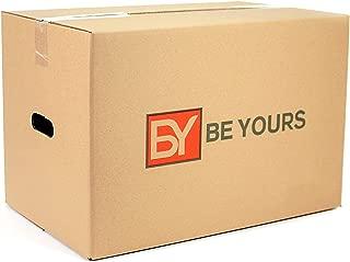 BEYOURS Pack de 20 Cajas Carton Mudanza con asas -