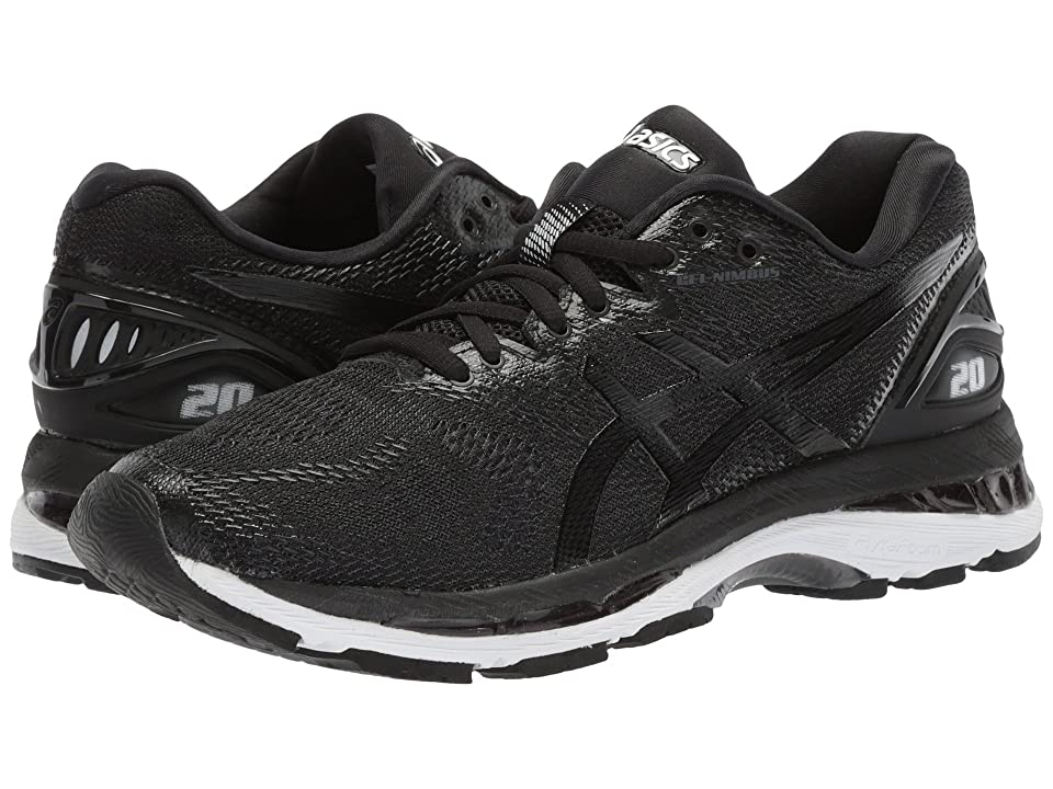 ASICS GEL-Nimbus(r) 20 (Black/White/Carbon) Women