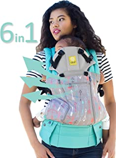SIX-Position, 360° Ergonomic Baby & Child Carrier by LILLEbaby ? The Complete All Seasons (Turquoise w/Silver Arrow)