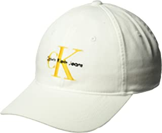 Calvin Klein Men's Embroidered Monogram Logo Baseball Dad Hat