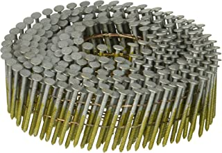 BOSTITCH C3R80BDG Thickcoat Round Head 1-1/4-Inch by .080-Inch by 15 Degree Wire Collated Ring Shank Coil Siding Nail (4,200 per Box)