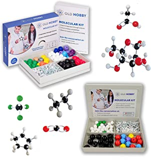 Organic Chemistry Model Kit (239 Piece Kit and 115 Piece Kit) - Molecular Model Student or Teacher Pack with Atoms, Bonds ...