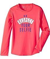 Under Armour Kids Respect Your Selfie Long Sleeve (Little Kids)
