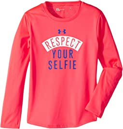 Under Armour Kids - Respect Your Selfie Long Sleeve (Little Kids)