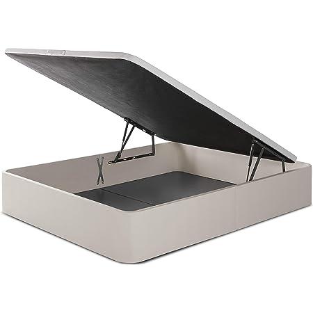 Canapé Abatible Pikolin NaturBox - Blanco, 160x200cm: Amazon ...