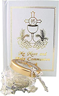 My First Communion Missal and Rosary with Case Gift Set for Girls