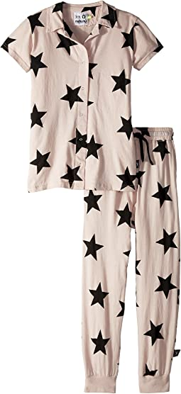 Nununu Buttonned Loungewear (Little Kids/Big Kids)