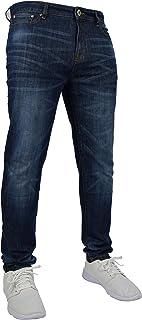 New Mens Stretch Skinny Slim Fit Flex Jeans Pant Stretchable Denim 98% Cotton & 2% Stretch Trouser 28-40 Waist