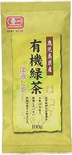 小野園 鹿児島県産 有機緑茶 金印 100g