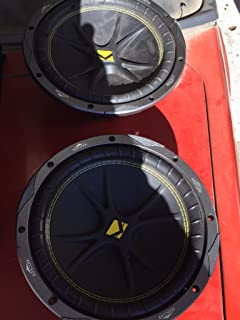 "KICKER 2 New 10C104 Comp 10"" 600 Watt 4 Ohm Car Subwoofers Combo C10 10C10-4"