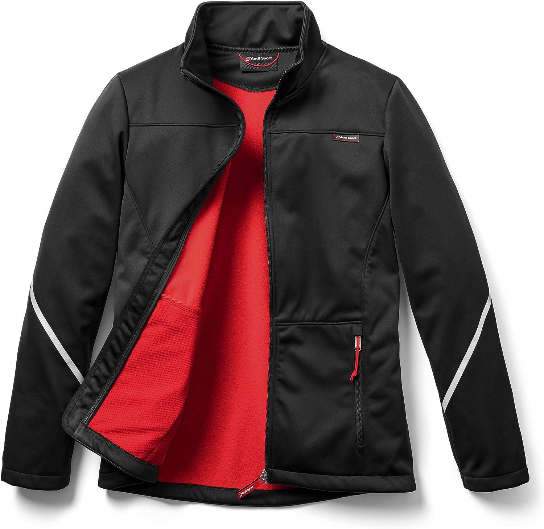 Chaqueta softshell para hombre talla L color negro Audi Sport