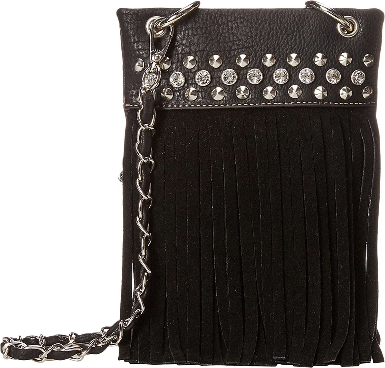 Blazin Roxx Western Handbag Womens Crossbody Magnetic Black N7580