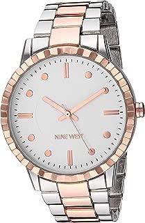 Nine West Women's Gold-Tone Bracelet Watch, NW/2312GNGP