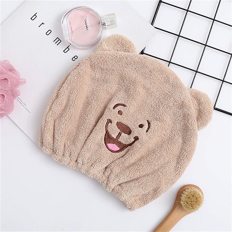 Dry hair washing cap Hair Max 70% OFF Turban Women Girls Child Free shipping / New Adult Towel C