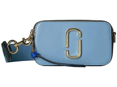 Marc Jacobs Snapshot (Misty Blue Multi) Handbags