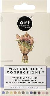 Prima Watercolor Confections Watercolor Pans 12/Pkg-Vintage Pastel