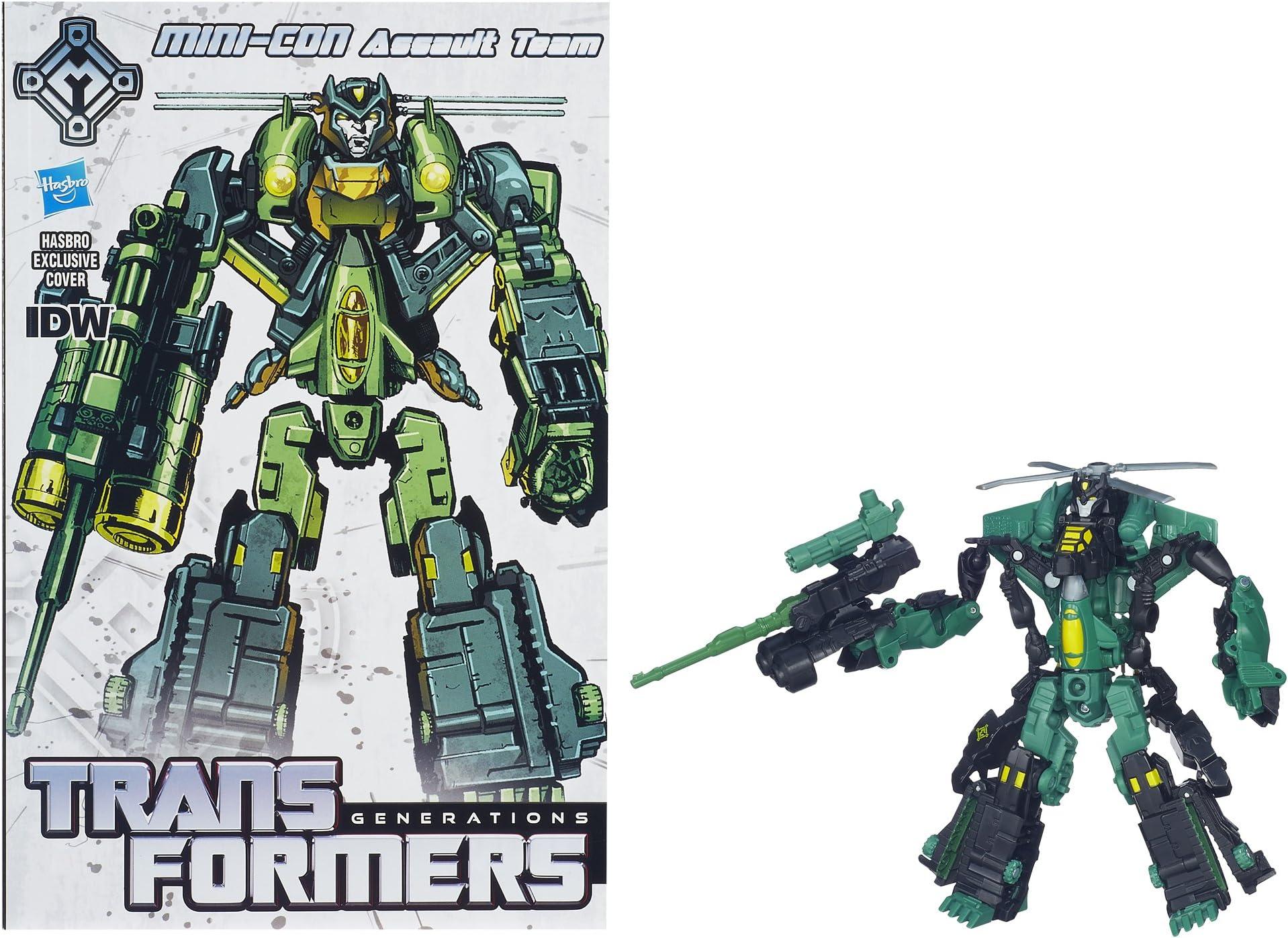 Transformers Generations 30th Mini-Con Assault DLX Class 100/% Complete