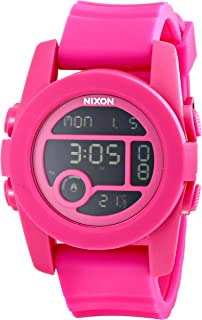 Men's Unit 40 Digital Watch With Silicone Band